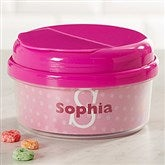 Just Me Toddler Personalized Snack Cup- Pink - 17539-P