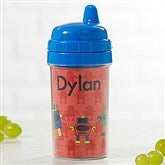 Just For Them Personalized Sippy Cup- Blue - 17540-B