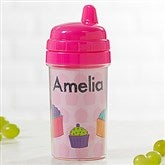 Just For Them Personalized Sippy Cup- Pink - 17540-P