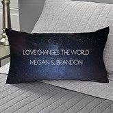 Written In The Stars Personalized Lumbar Throw Pillow - 17548-LB