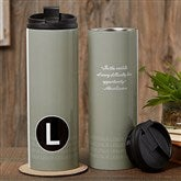 Sophisticated Quotes Personalized 16oz. Travel Tumbler - 17558