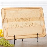 Classic Kitchen Personalized Extra Large Cutting Board- 15x21 - 17594-XL