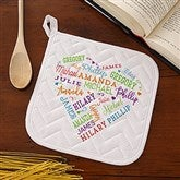 Close to Her Heart Personalized Potholder - 17600-P