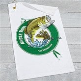 Fisherman Personalized Towel - 17614