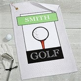 Club Classics Personalized Golf Towel