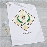 Golf Pro Personalized Golf Towel - 17618