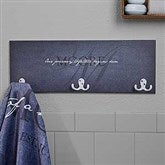 Heart of Our Home Personalized Towel Hook- 3 Hooks - 17624