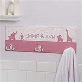 Baby Zoo Animals Personalized Towel Hook - 17629