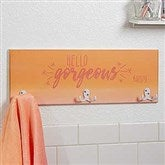 Morning Motivation Personalized Towel Hook - 17630