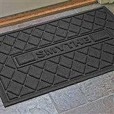 Argyle Family Name Personalized AquaShield™ Molded Doormat - 17652D