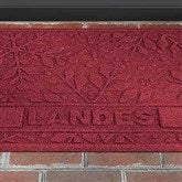 Snowflake Personalized AquaShield™ Molded Doormat - 17653D