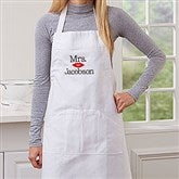 Better Together Mrs. Embroidered Apron - 17656-MRS