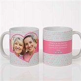 Love You This Much! Personalized Photo Coffee Mug 11 oz.- White - 17668-S