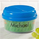 Just For Them Personalized Snack Cup- Blue - 17672-SB