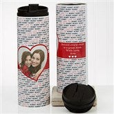 Love You This Much Photo Personalized 16oz. Travel Tumbler - 17674