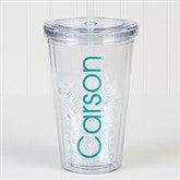 Classic Name Personalized Acrylic Insulated Tumbler - 17682