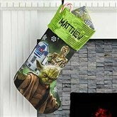 Star Wars™ Personalized Christmas Stocking - Star Wars - 17688-S