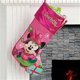 Minnie Mouse™ Personalized Christmas Stocking - 17689-MN