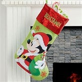 Mickey Mouse™ Personalized Christmas Stocking - 17689-MK