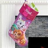 PAW Patrol™ Personalized Christmas Stockings - Girl - 17690-G