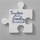 Personalized Puzzle Piece Wall Décor - Quote 1 - 17697-Q1