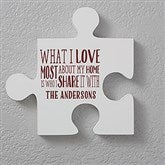Personalized Puzzle Piece Wall Décor - Quote 3 - 17697-Q3
