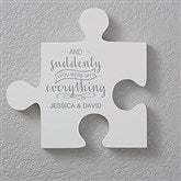 Romantic Quotes Personalized Puzzle Piece Wall Décor - Quote 2 - 17698-Q2