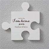 Romantic Quotes Personalized Puzzle Piece Wall Décor - Quote 3 - 17698-Q3