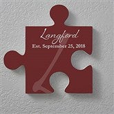 Family Name Personalized Puzzle Piece Wall Décor - 17699