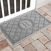 Bombay Monogram Personalized AquaShield™ Molded Doormat - 17708D