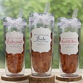 Bridesmaid On The Go Personalized Flip 'n' Sip Tumbler - 17711