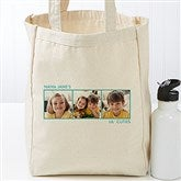 Picture Perfect Personalized Petite Canvas Tote Bag-3 Photos - 17723-3