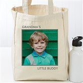 Picture Perfect Personalized Petite Canvas Tote Bag-1 Photo - 17723-1