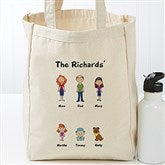 Character Collection Personalized Petite Canvas Tote Bag - 17735