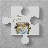 Two Name Personalized Puzzle Piece Wall Décor - 17742