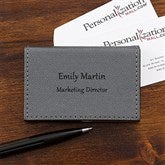 Signature Series Personalized Card Case - 17751
