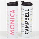 Hello! My Name Is Personalized Travel Tumbler - 17756