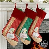 Precious Moments® Christmas Elf Personalized Stocking - 17772