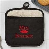 Better Together Mrs. Embroidered Pot Mitt - 17773-MRS