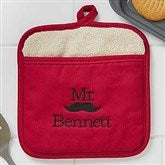 Better Together Mr. Embroidered Pot Mitt - 17773-MR