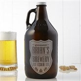 Beer Label Personalized 64oz. Beer Growler - 17786