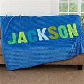All Mine! For Him Personalized Fleece Blanket - 17805