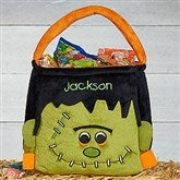 Freaky Frankie Embroidered Plush Treat Bag - 17816