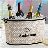 Time To Party Embroidered Neoprene Beverage Tub- Name - 17820-N