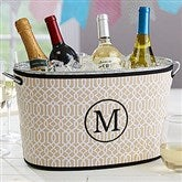 Time To Party Embroidered Neoprene Beverage Tub- Monogram - 17820-M