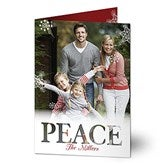 Candid Greetings Personalized Photo Christmas Cards- Vertical - 17826-V