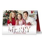 Candid Greetings Personalized Photo Christmas Cards - Horizontal - 17826-H