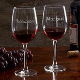 Classic Celebrations Personalized 19 1/4oz. Red Wine Glass - Name - 17830-RN