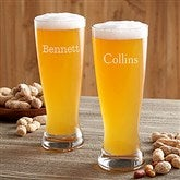 Classic Celebrations Personalized Beer Pilsner- Name - 17833-N