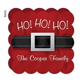 Ho! Ho! Ho! Personalized Greeting Cards - 17839